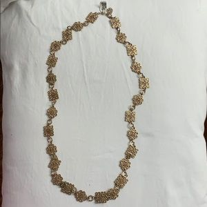 Long gold necklace never worn